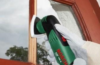 Come levigare le finestre e quale levigatrice scegliere?